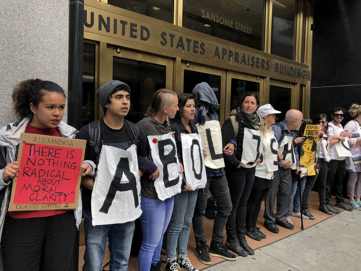 Abolish ICE:  48 hour vigil @ United States Appraisers Building | San Francisco | California | United States