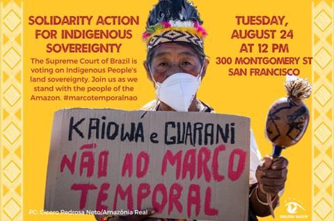 Solidarity Action for Indigenous Sovereignty @ Brazilian Consulate