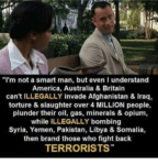 Forest Gump ain't no dummy