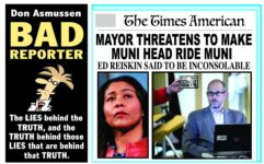 Don Asmussen gets it right:  Reiskin should be forced to ride Muni!