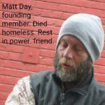 In memory of Mad Matt